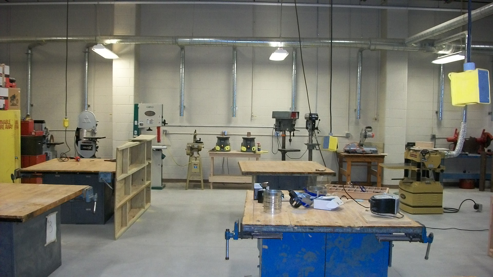 Dunkerton School District IT Building wood shop