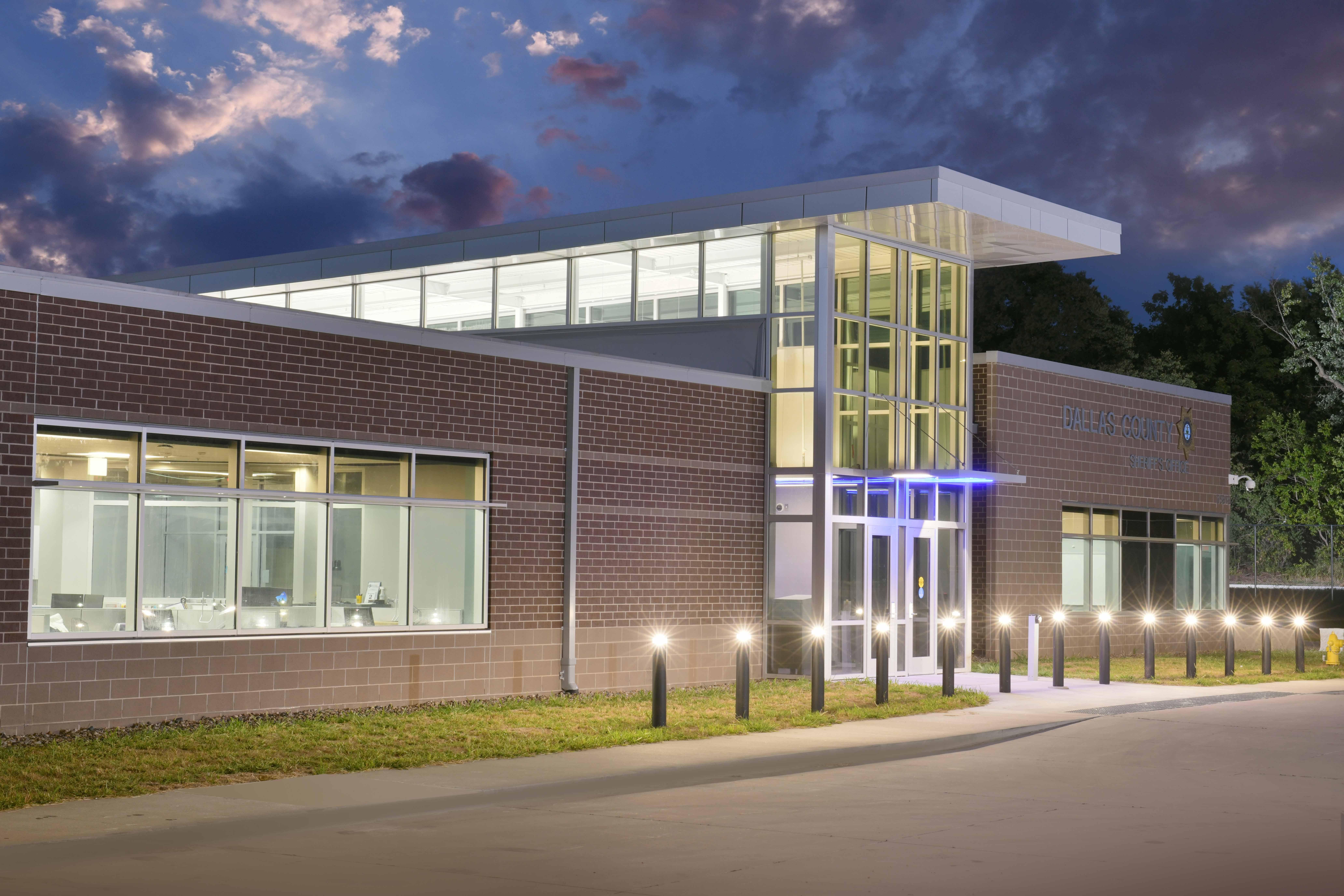 Dallas County Law Enforcement Center Exterior The Samuels Group